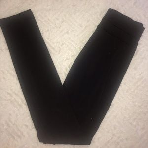 Lululemon Black Straight Leg High waisted Black